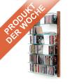 Nur diese Woche - unser Angebot: CD-Regal STORAY aus Nussbaum