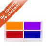 Unser Angebot zum 2. Advent: MegaPaket BOKSA Regalmodule in weiß