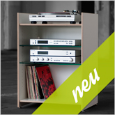 New: Hifi-Rack plywood Art-Nr. 6210