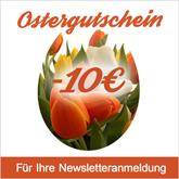 Ostergutschein für unsere Newsletterkunden