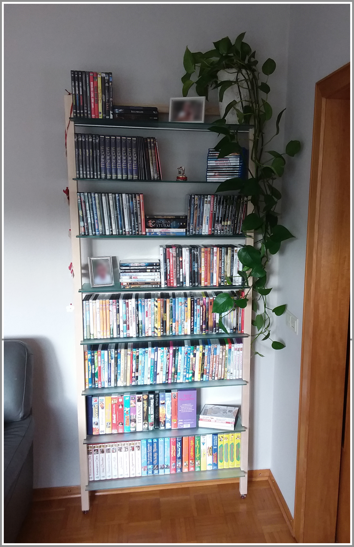 Kundenfoto - DVD/Bücherregal QUADRA