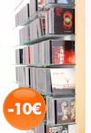 Produkt des Monats Juni - CD-Regal STORAY aus Ahorn Massivholz für 600 CDs - stark reduziert
