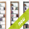 * Neu: Schmale DVD-/Bücherregale QUADRA *