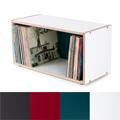 New and optimized - BOKSA 2 box shelf plywood white