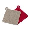 Topflappen und Untersetzer aus Wollfilz ab sofort im Shop erhältlich