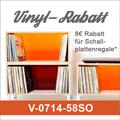 Vinyl-Rabatt für Ihren Schallplattenregalkauf