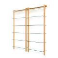 6117 - Storage Shelving Unit Quadra, cherry tree wood