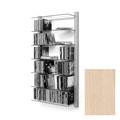 journal cd dvd regal system storay nussbaum kirsche. Black Bedroom Furniture Sets. Home Design Ideas