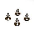 6311 - Furniture glides with knock-in sleeves for ROADIE I, II  4pcs set