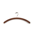 7116 - Elegant solid wooden walnut hangers for clothes