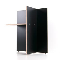 Fundgrube - Tischböcke TVINNS Birke Multiplex schwarz
