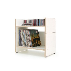 Hifi-Regal ROADIE II für Schallplatten und Hifi-Anlage