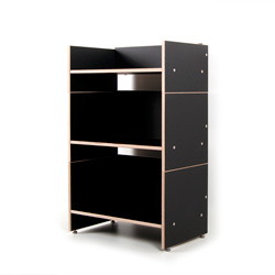 hifi regal roadie ii f r schallplatten verst rker amplifier und hifi. Black Bedroom Furniture Sets. Home Design Ideas