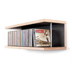CD-Regal STORIT 053 Birke Multiplex schwarz