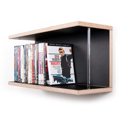 dvd und blu ray regale aus massivholz oder multiplex. Black Bedroom Furniture Sets. Home Design Ideas