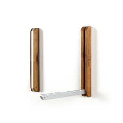 Extendable Coat hook walnut wood