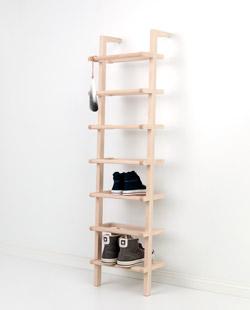 garderoben und kleiderhaken aus holz und edelstahl. Black Bedroom Furniture Sets. Home Design Ideas