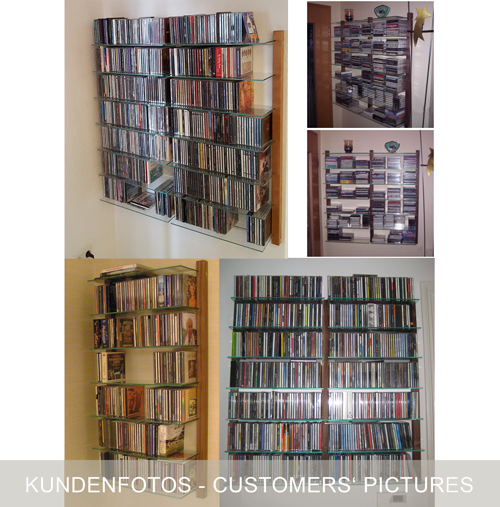 weitere bilder f r cd regal aus kirschbaum holz f r 300 cds. Black Bedroom Furniture Sets. Home Design Ideas