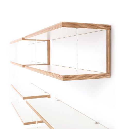 weitere bilder f r cd regal storit 053 aus birke multiplex weiss. Black Bedroom Furniture Sets. Home Design Ideas
