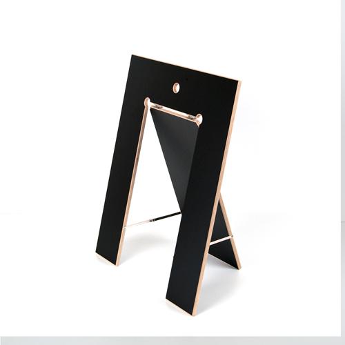 Fundgrube - Tischbock Lycka Birke Multiplex schwarz