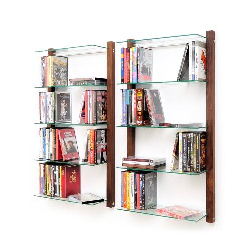 weitere bilder f r dvd regal storay aus nussbaum f r 100 dvds. Black Bedroom Furniture Sets. Home Design Ideas