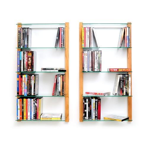 weitere bilder f r dvd regal storay aus kirschbaum f r 100 dvds. Black Bedroom Furniture Sets. Home Design Ideas