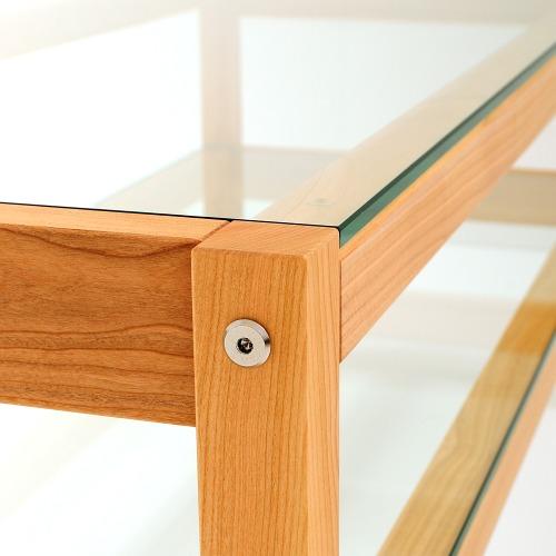 weitere bilder f r tv bank couchtisch aus massivem kirschbaum. Black Bedroom Furniture Sets. Home Design Ideas