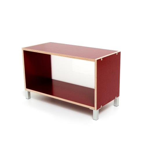 weitere bilder f r boksa regalsystem modul in birke multiplex rot. Black Bedroom Furniture Sets. Home Design Ideas