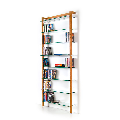 More Pictures For Quadra Dvd Shelving Unit And Bookcase