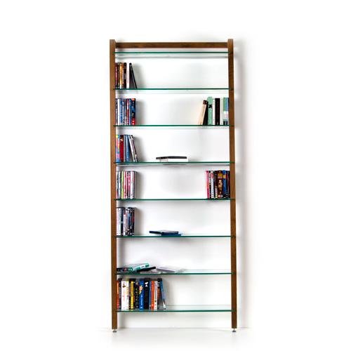 weitere bilder f r holz dvd regal oder b cherregal aus nussbaum. Black Bedroom Furniture Sets. Home Design Ideas
