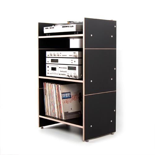 weitere bilder f r hifi regal roadie ii f r schallplatten verst rker amplifier und hifi. Black Bedroom Furniture Sets. Home Design Ideas