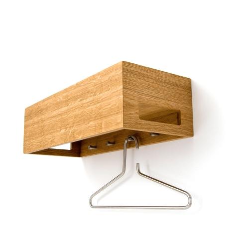 Wandgarderobe Hang+Store aus Eiche Holz
