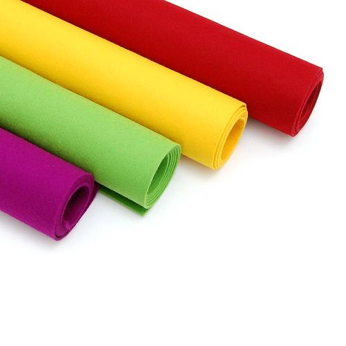 Filzmatte 2mm stark, in 4 Farben