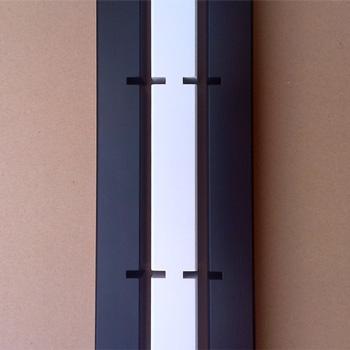 Projekt: Schwarz-Weiss - QUADRA LP-Regal und Hifi-Rack farbig